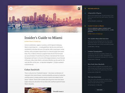 Article Page Web Design Web Design Trends Web Design Projects