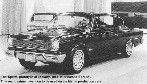 Og 1964 Rambler Tarpon Full Size Prototype Dated Jan 1964