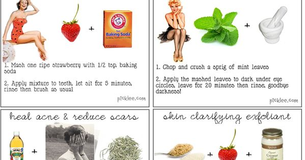 Beauty Tip: DIY Beauty Recipes / 12 Astonishing Natural Beauty Remedies {DIY