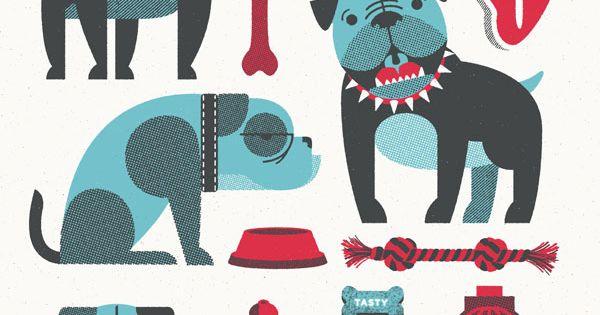 "Bulldog Art Print 18"" x 24"""