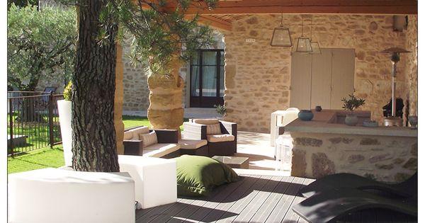 Terrasse Couverte Avec Cuisine D Ete Terrasse Couverte Deco