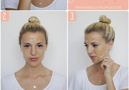 Barefoot Blonde homemade pore strips