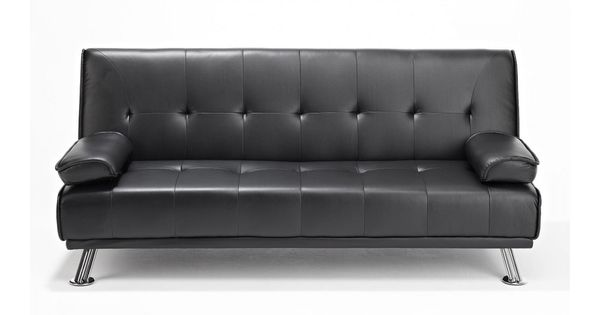 Black Leather Sofa Bed - http://infolitico.com/black-leather-sofa-bed/ For  Inspiration Idea LivingRoom Design | House Tips Decoration | Pinterest |  Black ... - Black Leather Sofa Bed - Http://infolitico.com/black-leather-sofa