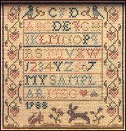 Meg S Bunny Sheepish Designs Cross Stitch Samplers Cross Stitch Patterns Antique Samplers