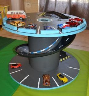 garage pour petites voitures recyclage touret cart n. Black Bedroom Furniture Sets. Home Design Ideas
