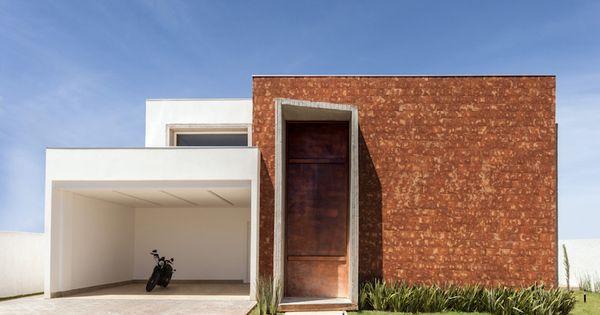 A o corten na decora o de casas e apartamentos lima for Casas modernas lima