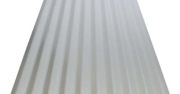 Ft galvanized steel corrugated roof panel home depot model