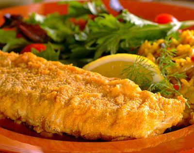 Oven fried fish recipe bread crumbs whiting fish for Fried fish with bread crumbs