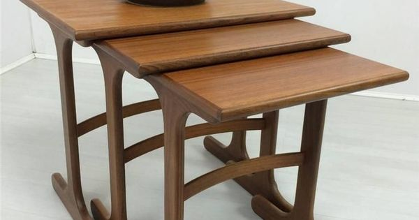 Vintage 1970s teak G plan nest of tables Nathan G Plan  : 609bf10eb19035fe9ae9201ac8cfb20c from www.pinterest.com size 600 x 315 jpeg 24kB