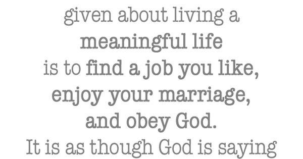 God's Advice, wow.