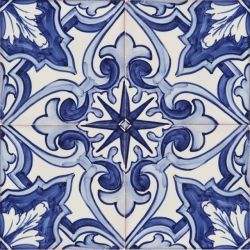 Portuguese Ceramic Tile 2154 Portuguese Hand Painted Fine Ceramic Tiles Azulejos Blue Baroque Painting Tile Hand Painted Portuguese Tiles