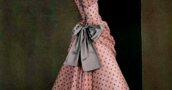 Madame Gres, Spring 1953 - I LOVE this dress