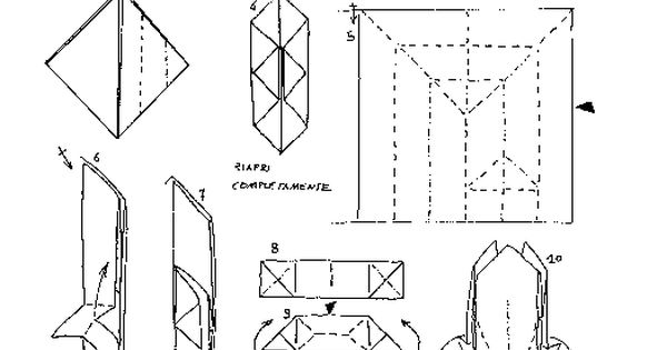 origami wet folding diagrams