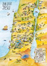 Testament altes landkarte israel Landkarte Israel