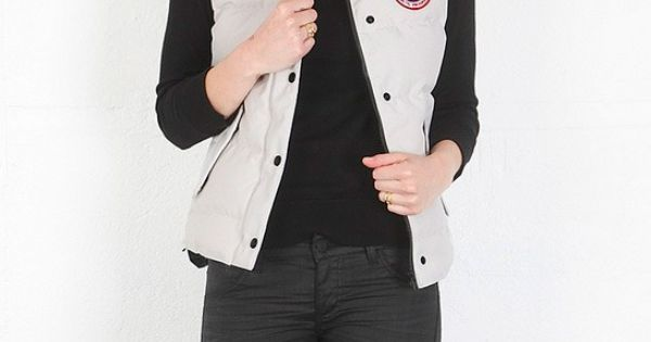 Canada Goose coats replica fake - Freestyle Vest in Silverbirch - designed by Canada Goose   Women's ...