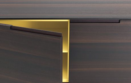 Finger Pull A Reveal In The Top Of Cabinet Door This One Goes Only About 8 Across The Door Joinery Details Home Decor Furniture Interior Design Living Room
