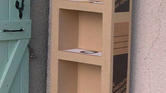 tutoriel comment fabriquer un meuble en carton c line kart 39 on carton art pinterest. Black Bedroom Furniture Sets. Home Design Ideas