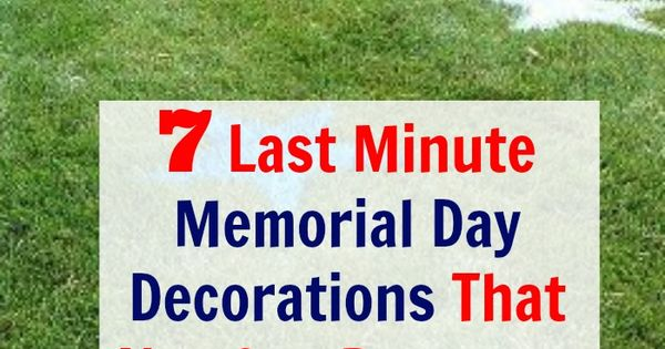 last minute memorial day travel deals