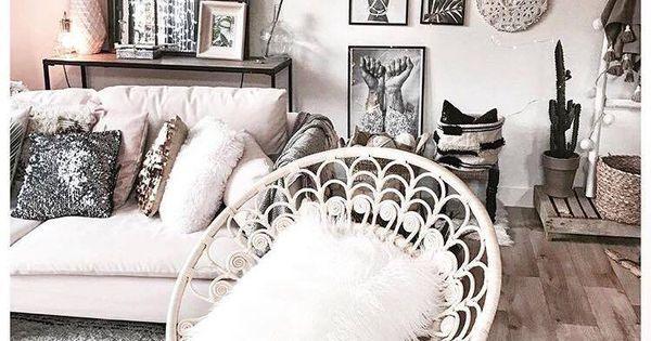 Home Design Tendance Salon Cosy Ton Clair Parquet Et