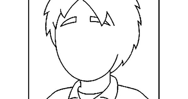 face parts coloring pages - photo#18