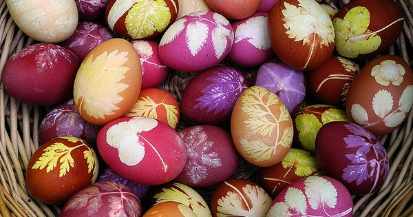 Natural easter egg decorating ideas Easter EasterIdeas