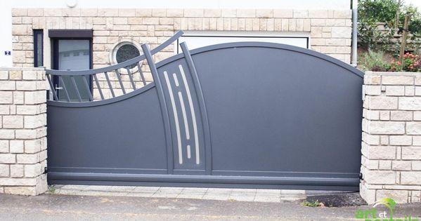 portail alu atlantide coulissant autoport portails pinterest. Black Bedroom Furniture Sets. Home Design Ideas
