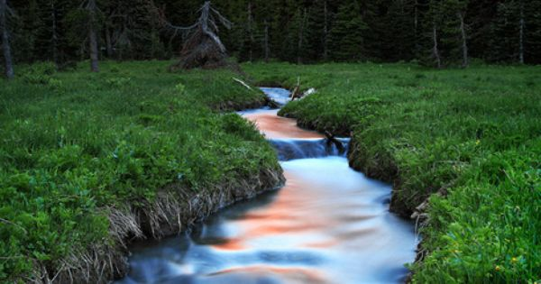 Mountain Meadow, Oregon, USA, travel