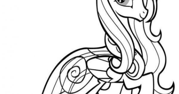 Free Image Of My Little Pony To Color For Little Girls ...