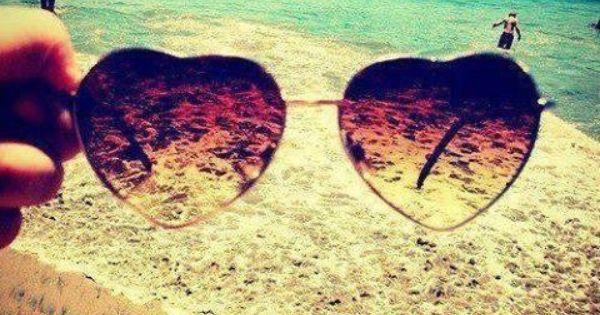 #Heart shaped summer shades