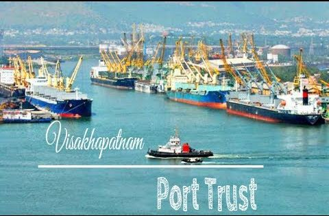 Visakhapatnam Harbour Port Trust East Coast Gateway Of India Port Visakhapatnam Sea Port