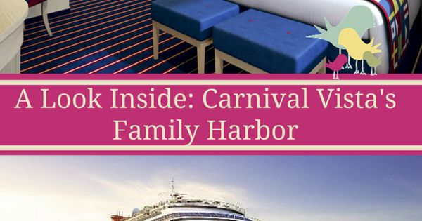 A Look Inside Carnival Vista S Family Harbor