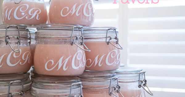 10 DIY Baby shower favors. I love the idea of the Sugar