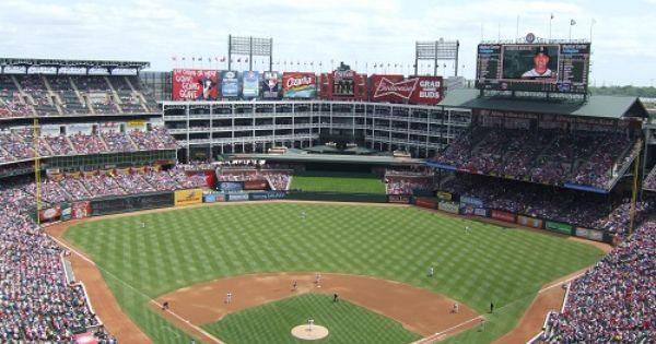Globe Life Park Texas Rangers Ballpark Ballparks Of Baseball Ballparks Mlb Stadiums Texas Rangers Ballpark