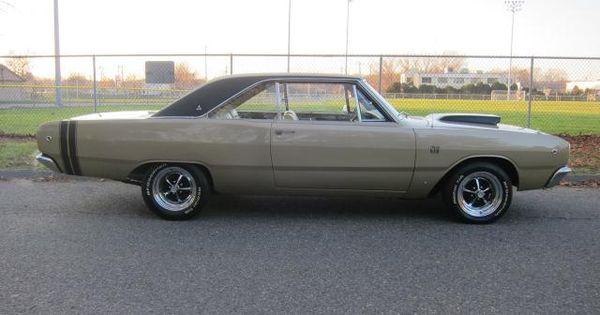 Antique Cars For Sale In Ct >> 1968 Dodge Dart GTS 340 4Bbl V8/4sp/3.23 SureGrip | TangoRides | Pinterest | Darts, Dodge dart ...