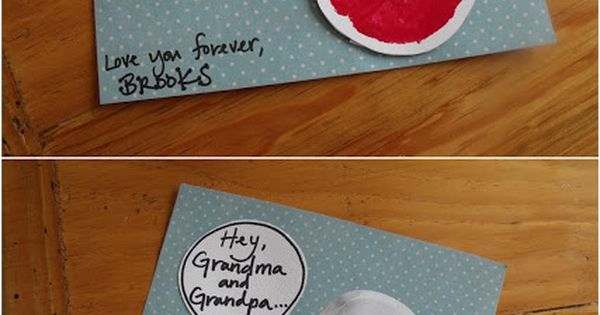 Cute Card for grandparents day