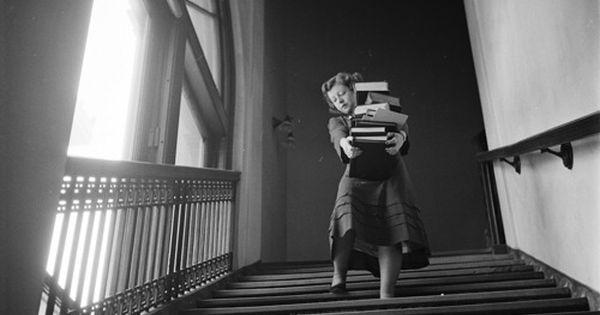 Stanley Kubrick - Student at Columbia University, 1948