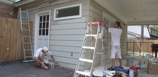 How To Turn A Carport Into Indoor Living Space Today S Homeowner Carport Makeover Carport Diy Carport