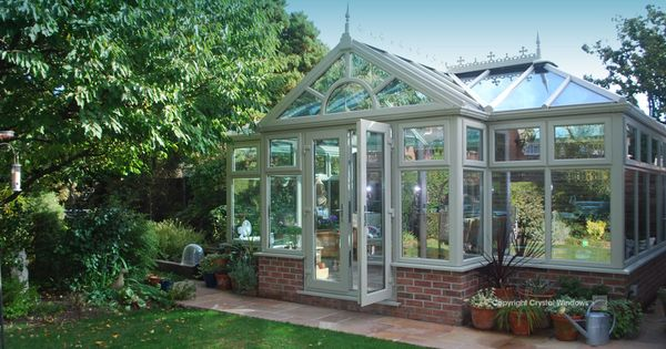 coloured-free-standing-conservatory-wilmslow ...