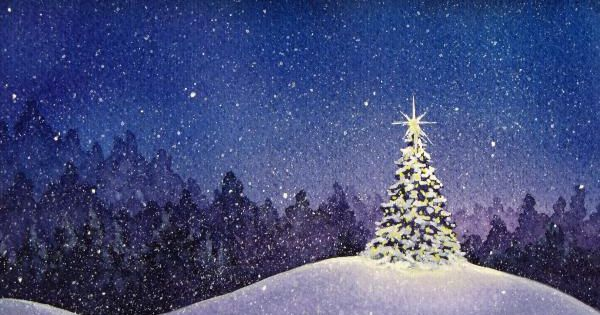 christmas eve greeting card for sale by christina meeusen. Black Bedroom Furniture Sets. Home Design Ideas
