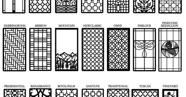Decorative Cabinet Window Amp Door Insert Grilles Living