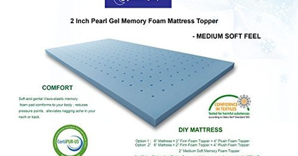 Www Amazon Com Ergonomic Sleep X Large Medium Mattress Dp