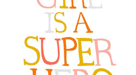 Super girl!!! Days are good when you fee like a superhero.