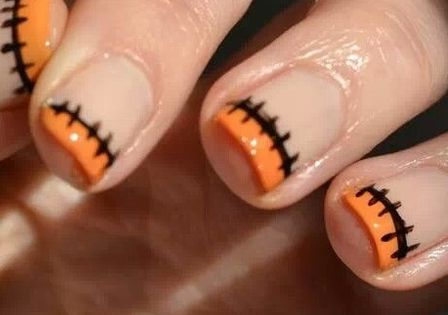 Loving these festive Halloween nail designs! If you do green instead though,