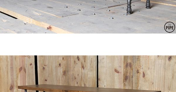 The Pipe:: 15SG Dining Table or Work Table  DIY bar  Pinterest  파이프, 의자 ...
