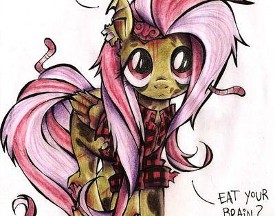 my little pony zombie