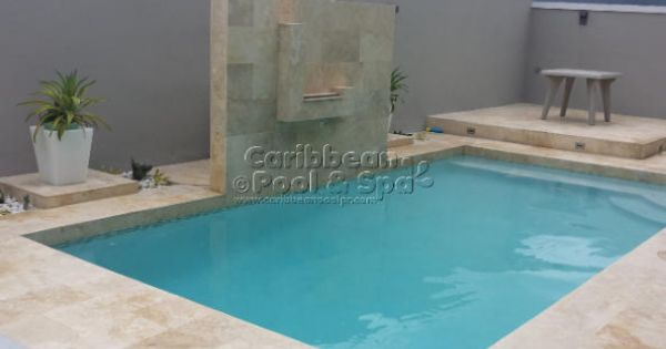 Caribbean pool and spa construcci n de piscinas en for Piscinas con cascadas