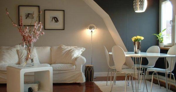 wei e und graue w nde wohnung streichen wohnzimmer streichen 106 room designs. Black Bedroom Furniture Sets. Home Design Ideas