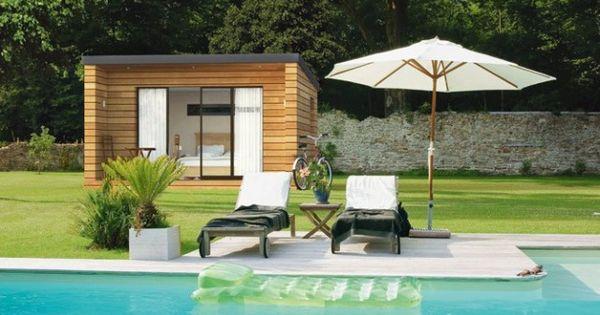 cabane en bois exterieur abris de jardin pinterest. Black Bedroom Furniture Sets. Home Design Ideas
