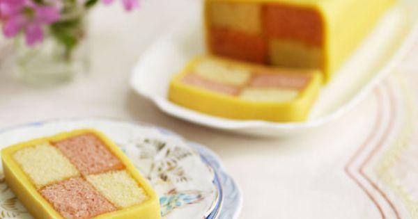 Battenburg cake recipes, Polo match and Ha long on Pinterest