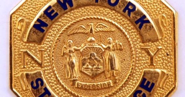 New york state police vintage police pinterest for Porte badge 60 x 90